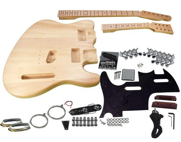 Solo TC & Mandolin Double Neck DIY Guitar Kit