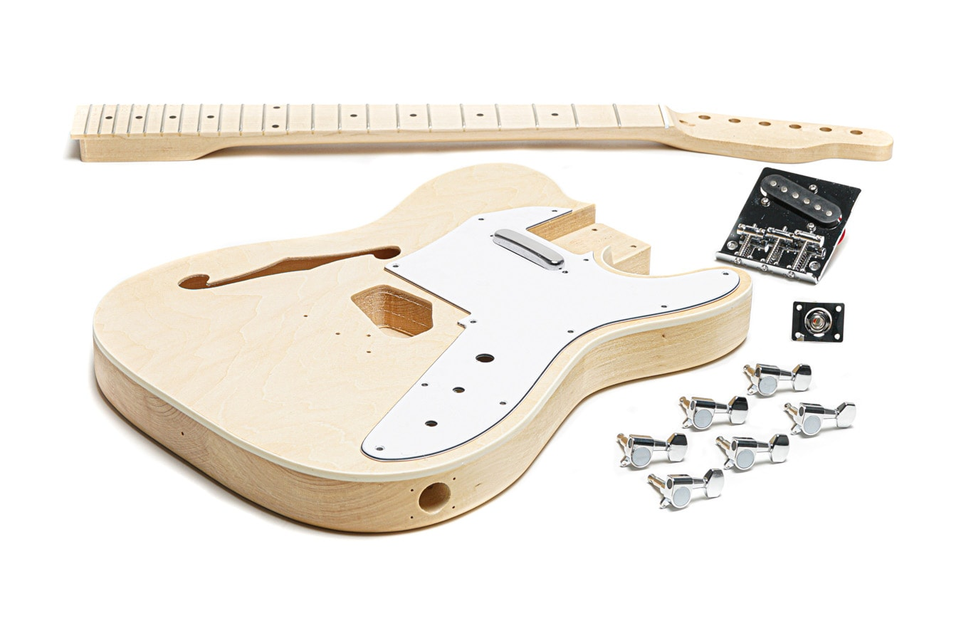 TheFretWire TL Thinline Style Build Your Own Guitar Kit