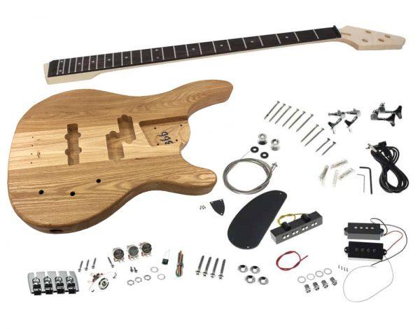 Solo SRBK-1 DIY Electric Bass Guitar Kit With PJ Pickups