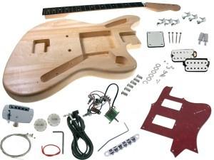 Solo LP Jr Style DIY Guitar Kit