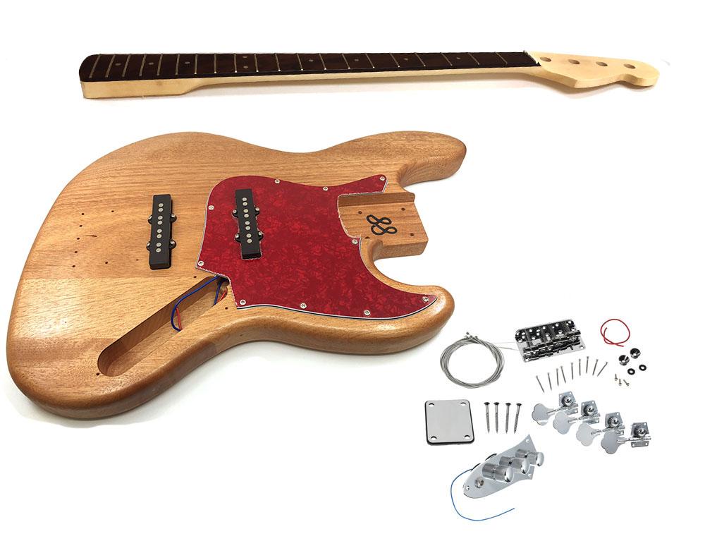 solo jbk 1 diy electric bass guitar kit solo music gear. Black Bedroom Furniture Sets. Home Design Ideas