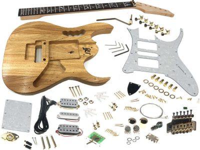 solo jek-10 diy electric guitar kit with vine inlay & floyd rose