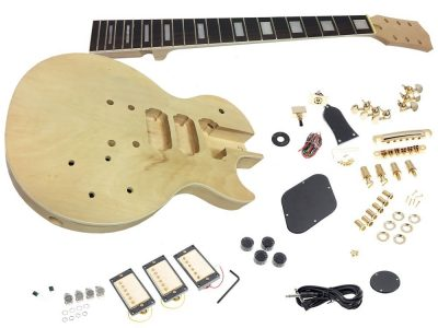 Diy do it yourself guitar kits sttc guitar kit canada solo solo lp style diy guitar kit carved body with maple top 3 pickups solutioingenieria Choice Image