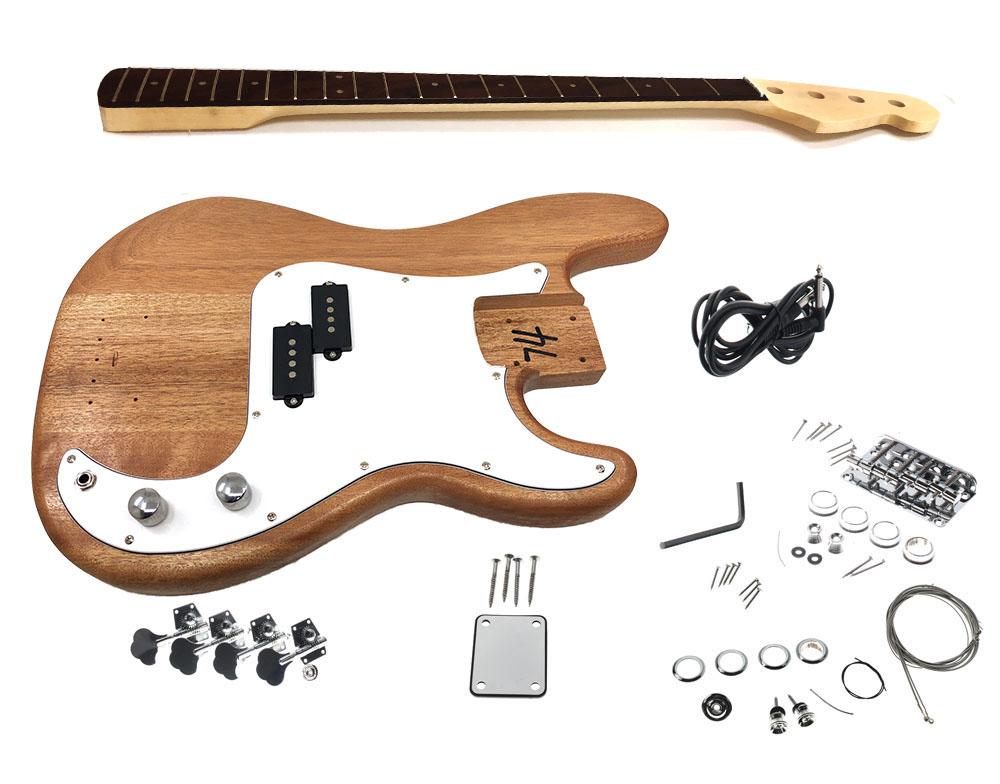 solo pbk 1 diy electric bass guitar kit solo music gear. Black Bedroom Furniture Sets. Home Design Ideas