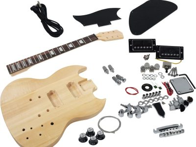 Diy do it yourself guitar kits sttc guitar kit canada solo solo sg style diy guitar kit basswood body maple neck solutioingenieria Choice Image