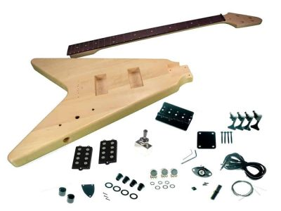 Solo FVBK-1 DIY Electric Bass Guitar Kit