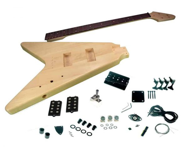 Solo FVBK-1 DIY Electric Bass Guitar Kit