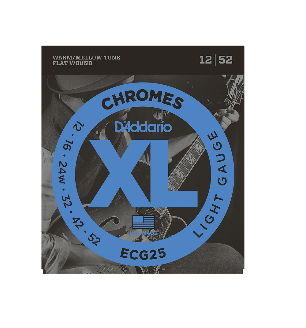 For My Acoustic Guitar Wiring Books Of Diagram D Addario Ecg25 Chromes Flat Wound Electric Strings