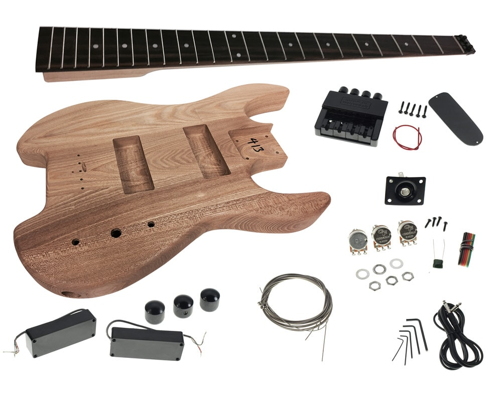 solo sbbk 10 diy headless electric bass guitar kit solo music gear. Black Bedroom Furniture Sets. Home Design Ideas