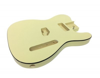 Solo Tele Style Finished Guitar Body