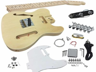 Solo TCK-69 DIY Electric Guitar Kit With Maple Top