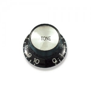Solo Black and Chrome Knob