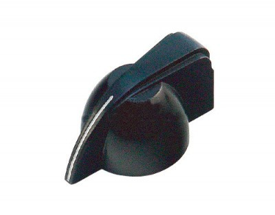 Solo Black Chicken Head Knob