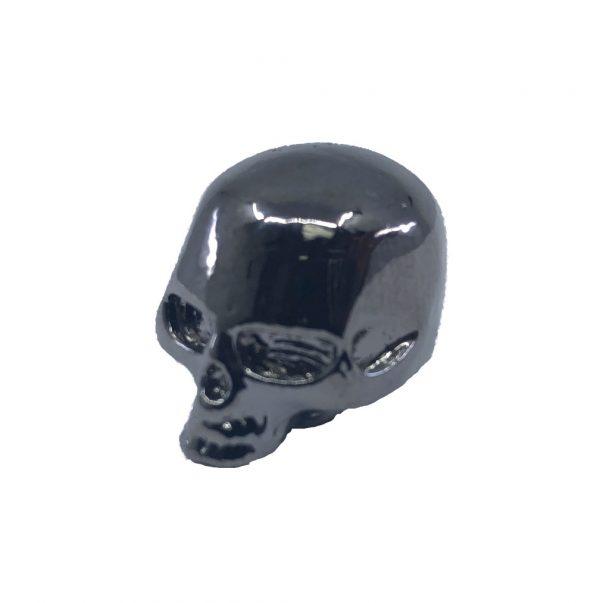 Solo Pro Pearl Black Skull Knob With Set Screw