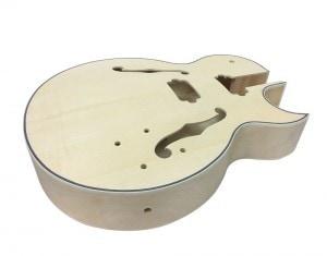 Solo ES Style Guitar Body