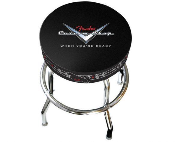"Fender® 30"" Custom Shop Pinstripe Barstool"