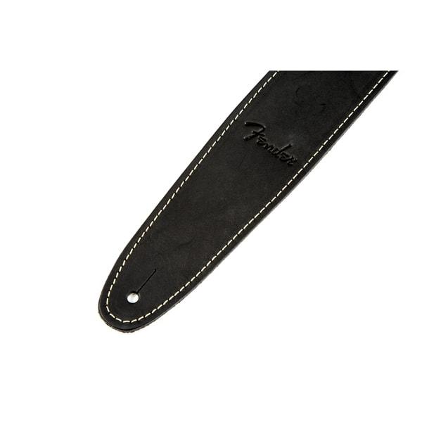 Fender 174 Ball Glove Leather Strap Black Solo Music Gear