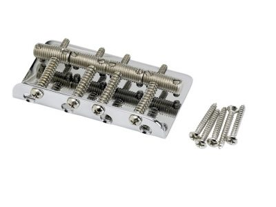 ender® Pure Vintage Bass Bridge Assembly, Nickel/Chrome
