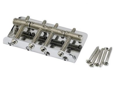 Fender® Pure Vintage Bass Bridge Assembly Nickel/Chrome