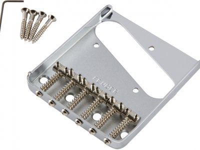 Fender® 6-Saddle Vintage-Syle Telecaster® Bridge Assembly