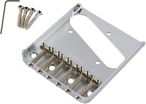 Fender® 6-Saddle Vintage-Syle Telecaster® Bridge Assembly