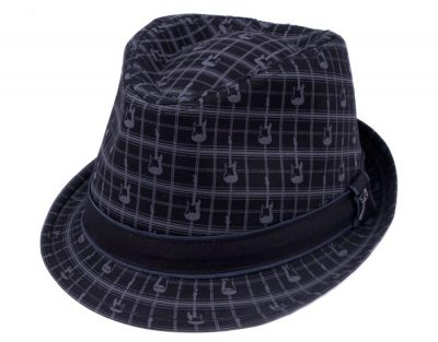 Fender® Axe Plaid Fedora