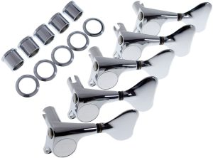 Gotoh GBS510 Bass Tuners, Chrome, 5 String Right Handed, 5L