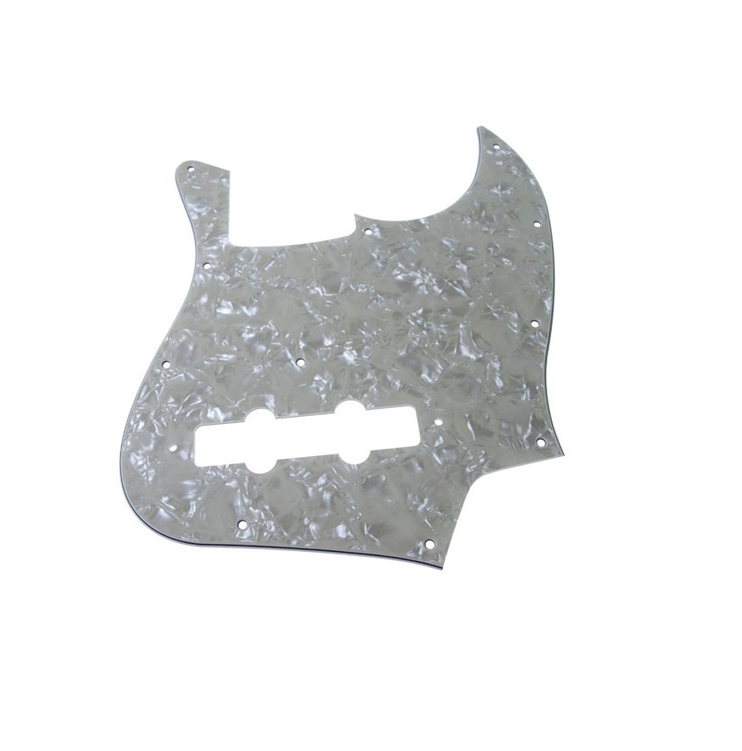 Solo Pro J Bass Style 3 Ply Vintage Pearl Pickguard