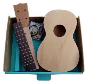 Solo Pro Ukulele DIY Kit