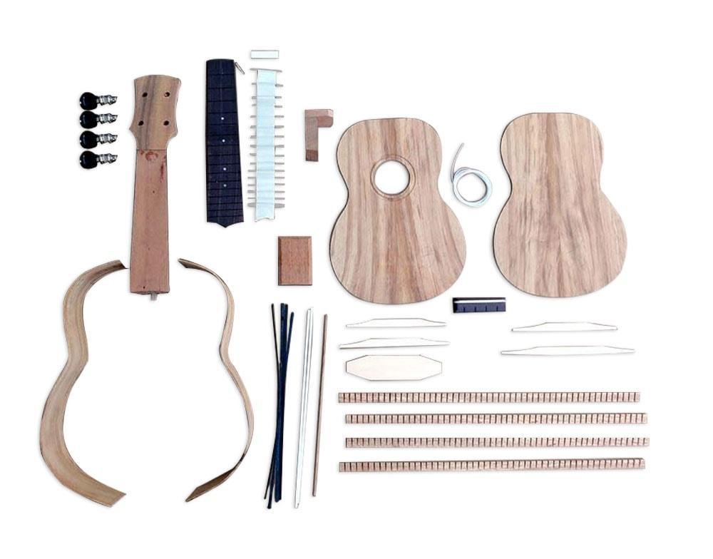 Solo pro ukulele diy kit solid koa top back sides rosewood fb solo pro ukulele diy kit solutioingenieria Images