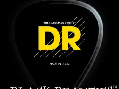 DR Strings Black Beauties Black Coated Medium 7-String Electric Guitar Strings