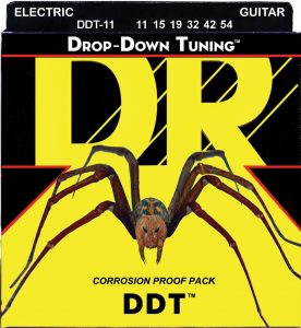 DR Strings DDT-11 Nickel Plated Electric Guitar Strings