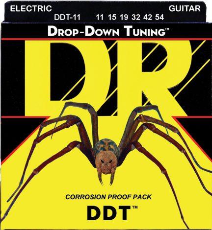 DR Strings DDT-11 Nickel Plated Electric Guitar Strings