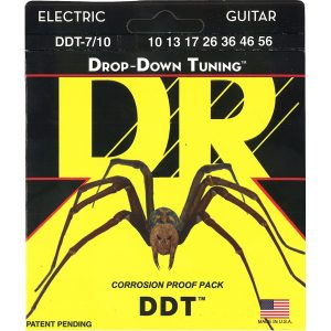 DR Strings Drop Down Tuning 7-String Electric Guitar Strings