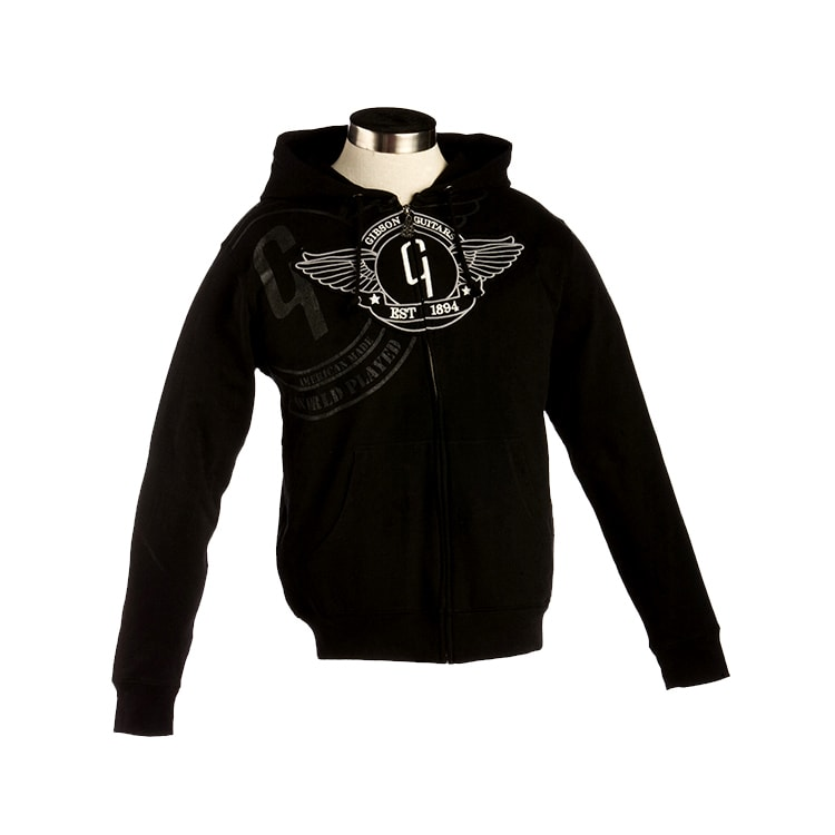 Gibson Gear Lifestyle Hoodie Men's, Black