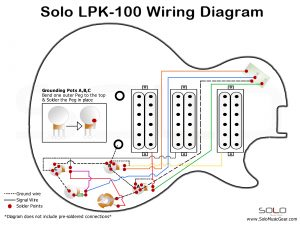 SOLO LP Style 3 Pickups Wiring Guide