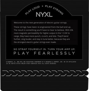 D'Addario NYXL0946 Nickel Plated Electric Guitar Strings