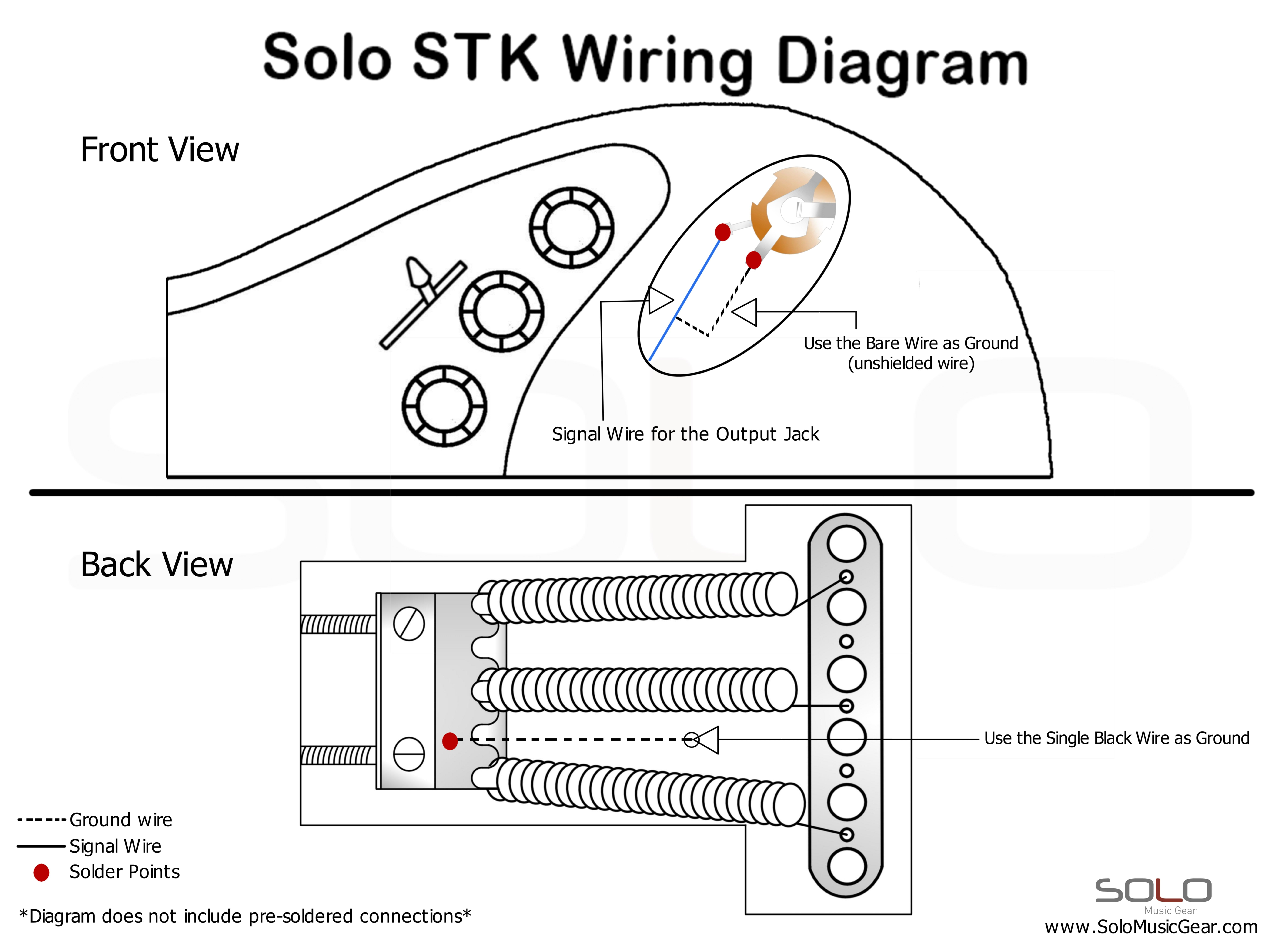 SOLO ST Style Wiring Guide