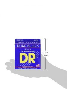 DR Strings PHR-10/52 Pure Blues Pure Nickel Big & Heavy