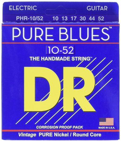 DR Strings PHR-10/52 Pure Blues Pure Nickel Big & Heavy