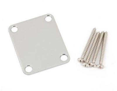 Fender® 4-Bolt Vintage-Style Neck Plate Plain