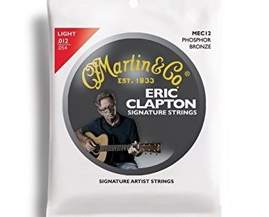 Martin Eric Clapton's Phosphor Bronze Acoustic Guitar Strings