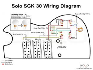 SOLO SG Style 3 Pickup Wiring Guide