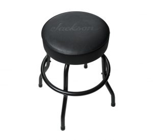 "Jackson 24"" Black Logo Barstool"