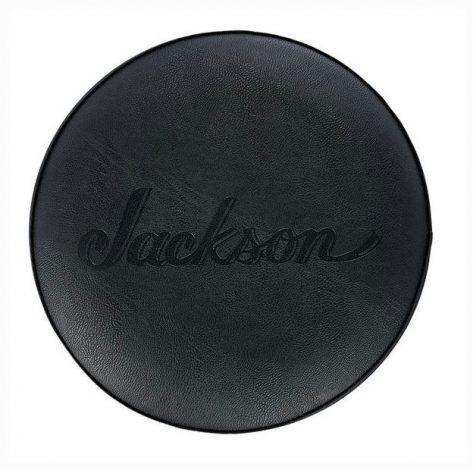 "Jackson 30"" Black Logo Barstool"