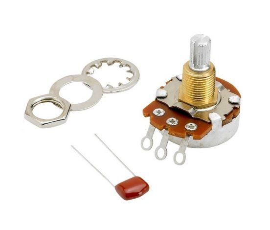 Fender® 500K Split Shaft Potentiometer