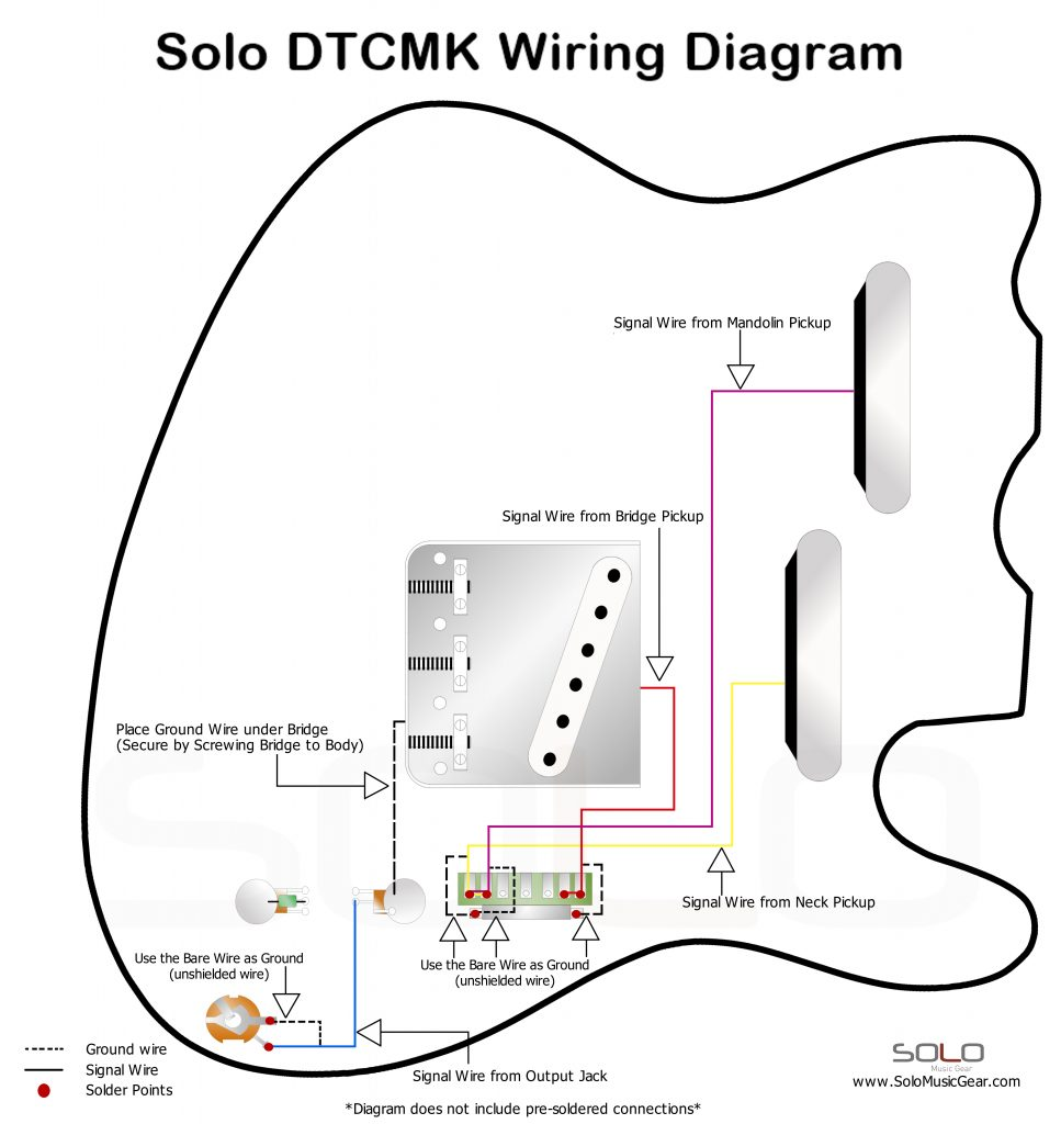 solo double neck tc mandolin style wiring diagram solo music gear rh solomusicgear com