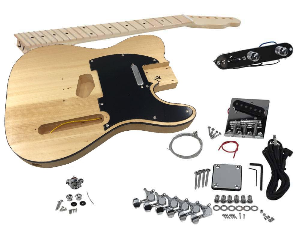 solo tck 1m diy electric guitar kit solo music gear. Black Bedroom Furniture Sets. Home Design Ideas