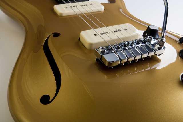 Schaller Les Paul Style Chrome Tremolo Bridge Solo Music