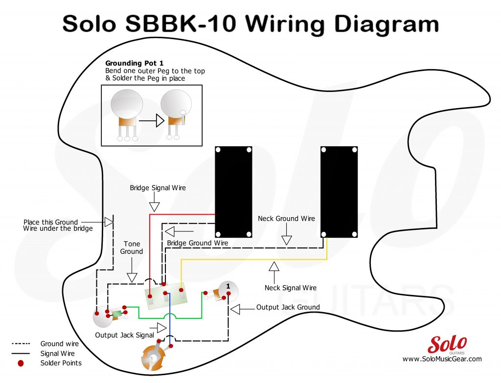 solo sb bass 10 style wiring guide